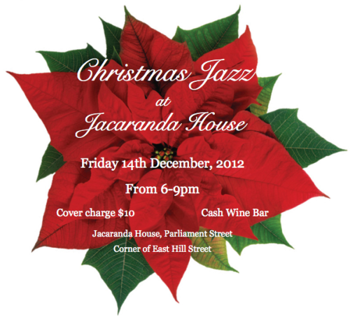 Christmas Jazz at Jacaranda House